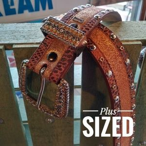 Ariat Leather Western Belt